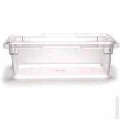 "Cambro 12186CW135 - Camwear Food Storage Container, 12"" x 18"" x 6"", 3 Gal, Clear - Pkg Qty 6"