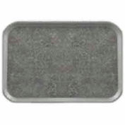 """Cambro 1418VC381 - Versa Camtray, Rectangular, 14"""" x 18"""", Non-Skid, Pearl Gray With Titan, Ecosafe - Pkg Qty 12"""