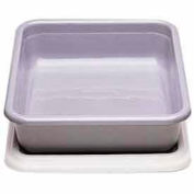 "Cambro 1722CBCP148 - Cambox Cover, For 17"" x 22"", 17-5/16""L x 22-3/8""W, Hi-Gloss Plastic, White - Pkg Qty 12"