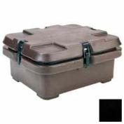 Empilement de 240MPC110 cambro - Camcarrier pour casseroles de nourriture taille 1/2, 5,3 contenance, 16-1/2 x 13-7/8, cosses, noir