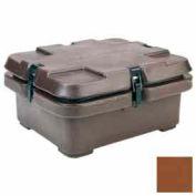Cambro 240MPC131 - Camcarrier, moitié nourriture casseroles, 5,3 Qts, 16-1/2 x 13-7/8, empilement de cosses, brun