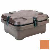 Empilage de cambro 240MPC157 - Camcarrier, moitié nourriture casseroles, 16-1/2 x 13-7/8, cosses, café Beige