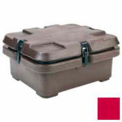 240MPC158 cambro - Camcarrier, pour taille alimentaire demi-godets, 16-1/2 x 13-7/8, empilement de cosses, Red Hot