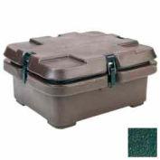 Empilement de 240MPC519 cambro - Camcarrier pour casseroles de nourriture taille 1/2, 5,3 contenance, 16-1/2 x 13-7/8, cosses, vert