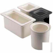 Cambro 60CFC135 - Coldfest Food Pan Cover, 1/6 Size, Flat, Polycarbonate, Clear, NSF - Pkg Qty 2