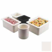 """Cambro 66CF148 - ColdFest Food Pan, 1/6 Size, 6"""" Deep, Stackable, White"""