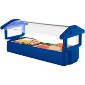 Cambro 6FBRTT186 - Table Top Model Food Bar 33x71, Navy Blue