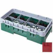 """8HS958416 cambro - Camrack verre Rack 8 compartiments Max 10-1/8"""". Hauteur NSF canneberge, qté par paquet : 2"""