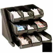 Cambro 9RS9110 - Organizer Rack, with 9 Bins, Black