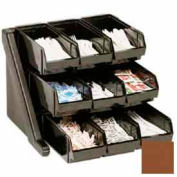 Cambro 9RS9131 - Organizer Rack, with 9 Bins, Dark Brown