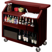 Cambro BAR540131 - Small Size, Bottle Service, Standard Decor, Dark Brown