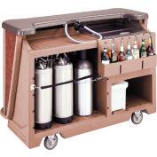 Cambro BAR650DSDX668 - Mid Size w/Pre-Mix System Soda Canisters, Sedona Decor