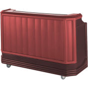 Cambro BAR730189 - Large Size, Bottle Service, Standard Decor, Two Tone, Brown/Mahogany