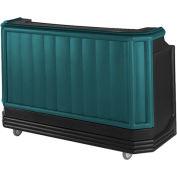 Cambro BAR730421 - Large Size, Bottle Service, Standard Decor, Granite Green w/Black Base