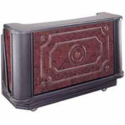 """Cambro BAR730DSPM669 - Decorative Countertop 72-3/4"""" Carmel"""