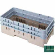 "Cambro HBR578119 - Camrack Base Rack, Half Size, 6-1/2"" Compartment Height, Sherwood Green - Pkg Qty 4"
