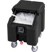 Cambro ICS100L4S110 - Ice Caddies, Black, 100 Lbs. Cap.