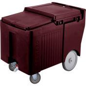 Cambro ICS125LB131 - Ice Caddy, Dark Brown, 125 Lbs. Cap., 4 Swivel, 1 with Brake