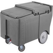 Cambro ICS125LB191 - Ice Caddy, Granite Gray, 125 Lbs. Cap., 4 Swivel, 1 with Brake