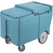 Cambro ICS125LB401 - Ice Caddy, Slate Blue, 125 Lbs. Cap., 4 Swivel, 1 with Brake