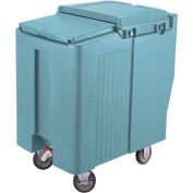 Cambro ICS125T401 - Ice Caddy, Slate Blue, 125 Lbs. Cap., Tall