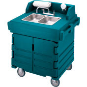 Cambro KSC402192 - Camkiosk Hand Sink Cart, Granite Green
