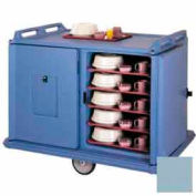 Cambro MDC1520S20401 - Meal Delivery Cart Low Profile, 2 Doors, 55-1/8 x 38 x 43-1/4, Slate Blue