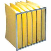 """Purolator® 5276427991 Multi-Pocket Bag Filter Serva-Pak 24""""W x 24""""H x 12""""D - Pkg Qty 4"""
