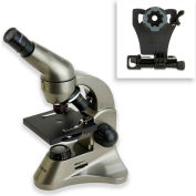 Carson® MS-040SP Biological Microscope & Universal Adapter for Smartphones Kit