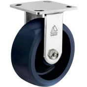 "Bassick® Prism Stainless Steel Rigid Caster - Solid Urethane - 4"" Dia."