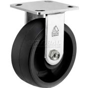 """Bassick® Prism Stainless Steel Rigid Caster - Reinforced Thermoplastic - 6"""" Dia."""