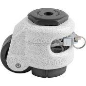 Foot Master® Swivel Stem Ratchet Leveling Caster GDR-60S - 550 Lb. - 50mm Dia. Nylon Wheel