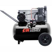 Campbell Hausfeld® VT6182,3.7 HP,Portable Comp.,20 Gallon,Horiz.,135 PSI,10.2 CFM,1-Phase 230V