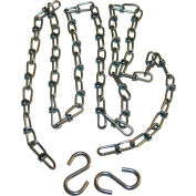 """Hanging Chain Kit 1800.CS.U.20.3 for U-Configuration 3.5"""" Infrared Heaters 20'L"""
