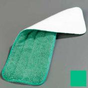 "Carlisle, Mop microfibre humide Pad 18"", vert - 363321809, qté par paquet : 12"