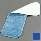 """Microfiber Wet Mop Pad 18"""" - Blue - Pkg Qty 12"""
