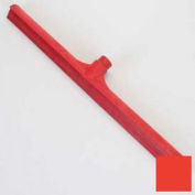 """Spectrum® Color-Coded One-Piece Rubber Floor Squeegee 24"""" - Red - 3656805 - Pkg Qty 6"""