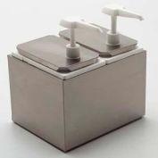 Carlisle 38310 - Standard Pump Kit, W/Pump & 5 Lids, White