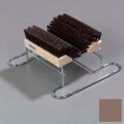 "Spectrum® Boot 'N Shoe Brush 14-3/4"" Long x 16-1/2"" Wide - Brown"