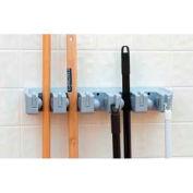 "Carlisle Roll 'N Grip™ Holder System, Blue, 18"", 8 Hooks - 4073700"