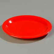 "Carlisle 4350105 - Dallas Ware® assiette 9"", rouge, qté par paquet : 48"
