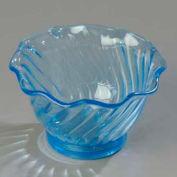 Carlisle 453054 - Tulip Dessert Dish 5 Oz., Ice Blue - Pkg Qty 24