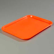 "Carlisle CT121624 - Cafe® Standard Tray 12"" x 16"", Orange - Pkg Qty 24"