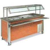 "Dinex DXDCR90 - Dinexpress Corner Counter W/ 90 Degree Cabinet, 30"" x 30"" x 36"", S/S"