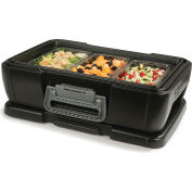 "Carlisle IT14003 IT Carrier Single Pan 4"" - Onyx"