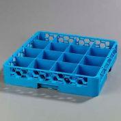 Carlisle RC1614 - Rack de Opticlean™ de coupe 16 compartiments, bleu, qté par paquet : 6