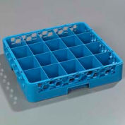 Carlisle RC2014 - Opticlean™ 20-Compartment Cup Rack, Carlisle Blue - Pkg Qty 6