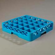 Carlisle RG2514 - Opticlean™ 25-Compartment Glass Rack, Carlisle Blue - Pkg Qty 6