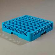 Carlisle RG4914 - Opticlean™ 49-Compartment Glass Rack, Carlisle Blue - Pkg Qty 6