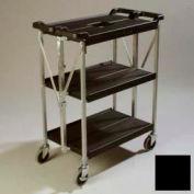 Chariot Fold 'N Go® Carlisle® SBC152103,15 x 21, noir